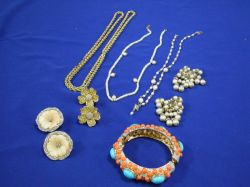 K.J. Lane and Other Vintage Costume Jewelry.