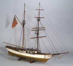 Model of the Survey Yacht Carnegie