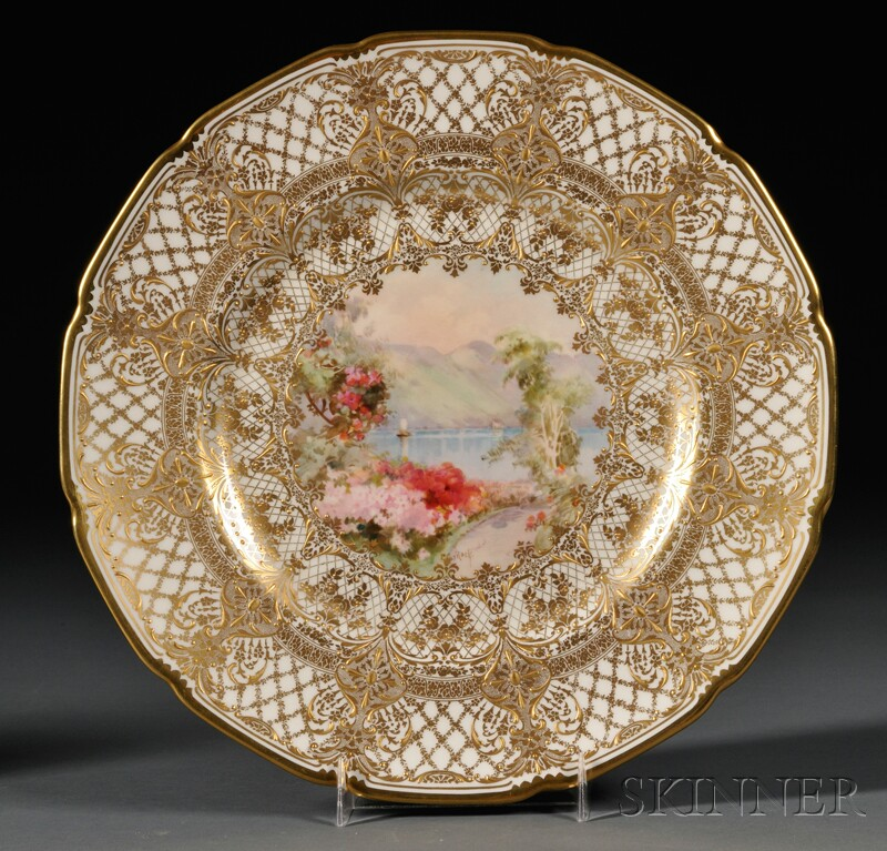 Twelve Royal Doulton Italian Scene Plates