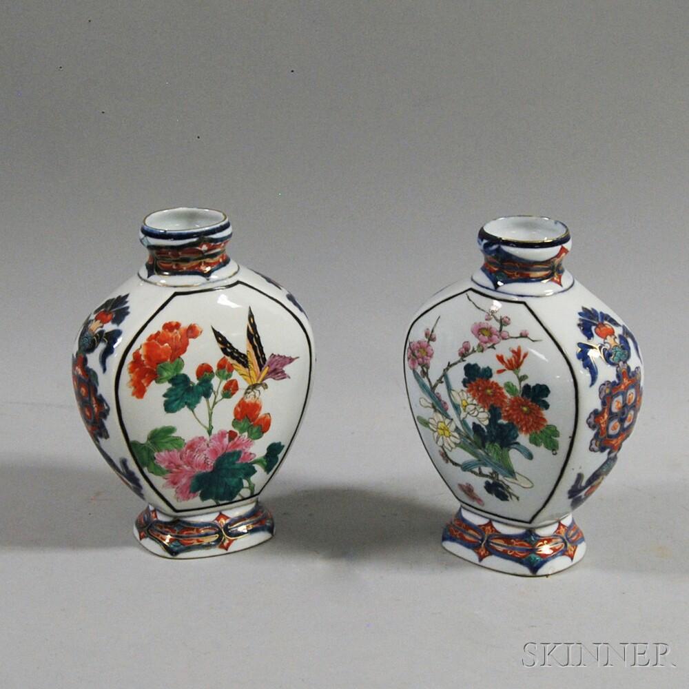 Pair of Japanese Imari Vases