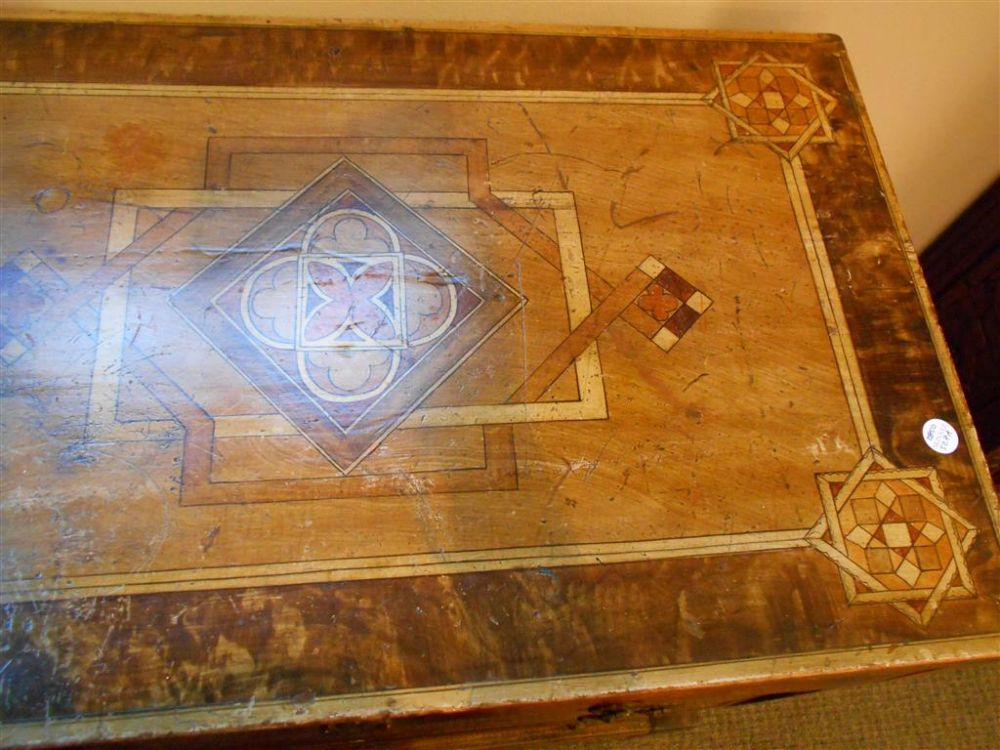Continental Marquetry and Trompe l'Oeil Chest