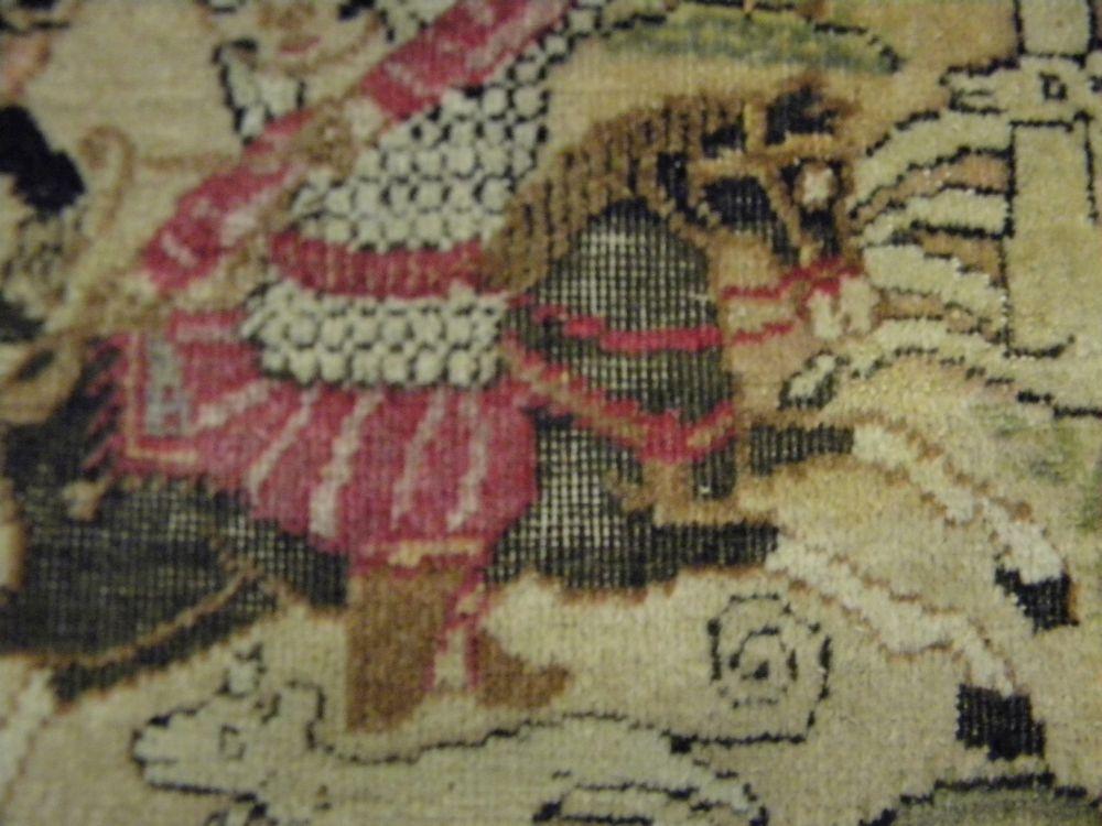 Lavar Kerman Pictorial Rug