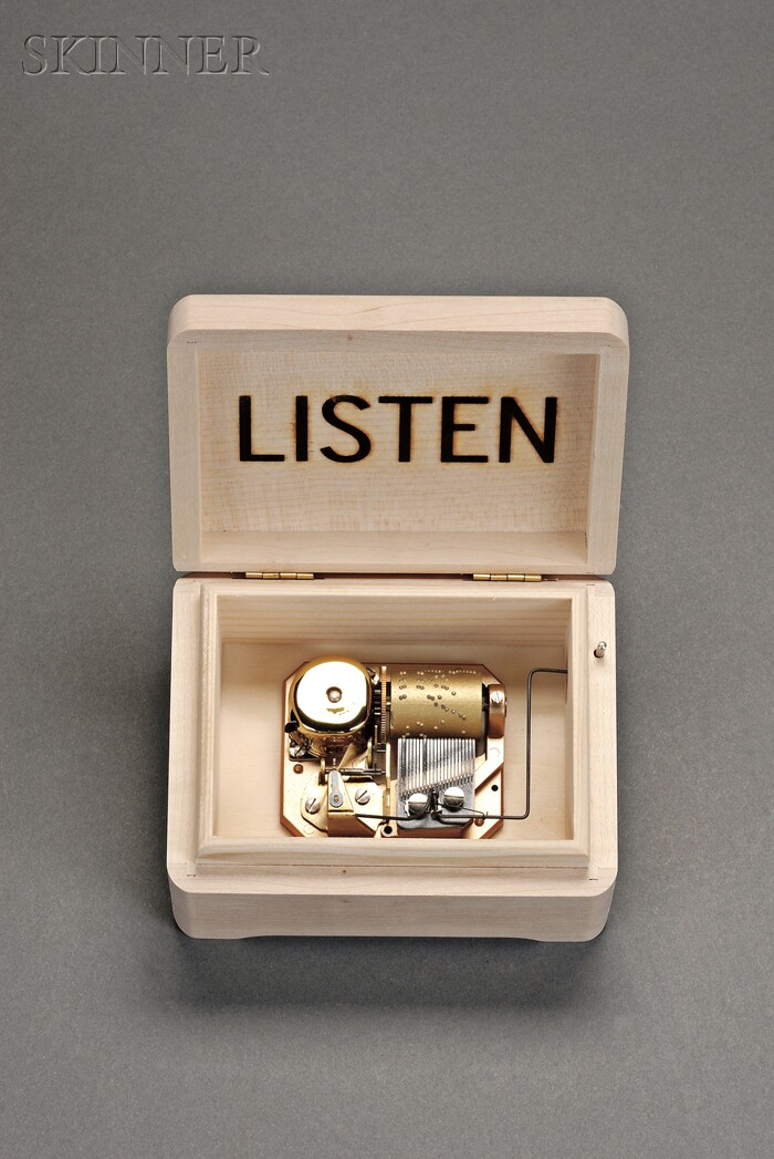 Christian Marclay (American, b. 1955)      Norton Christmas Project/Music and Box