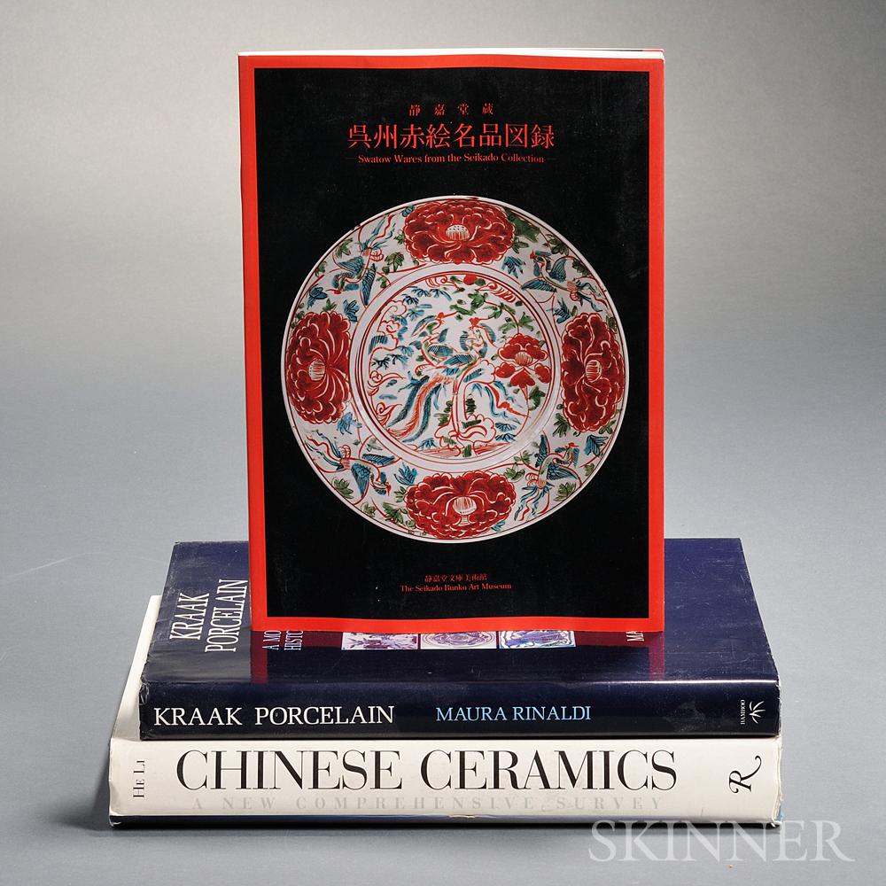 Six Books on Chinese Ceramics