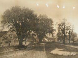 American School, 19th/20th Century  The Old Homestead.