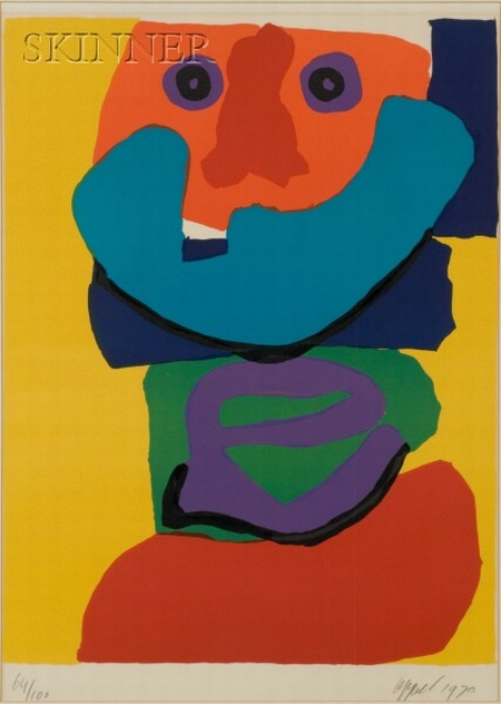 Karel Appel (Dutch, 1921-2006)    Figure