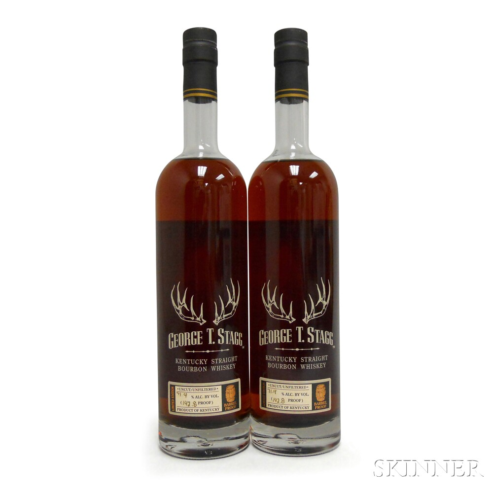 Buffalo Trace Antique Collection George T. Stagg 2012, 2 750ml bottles
