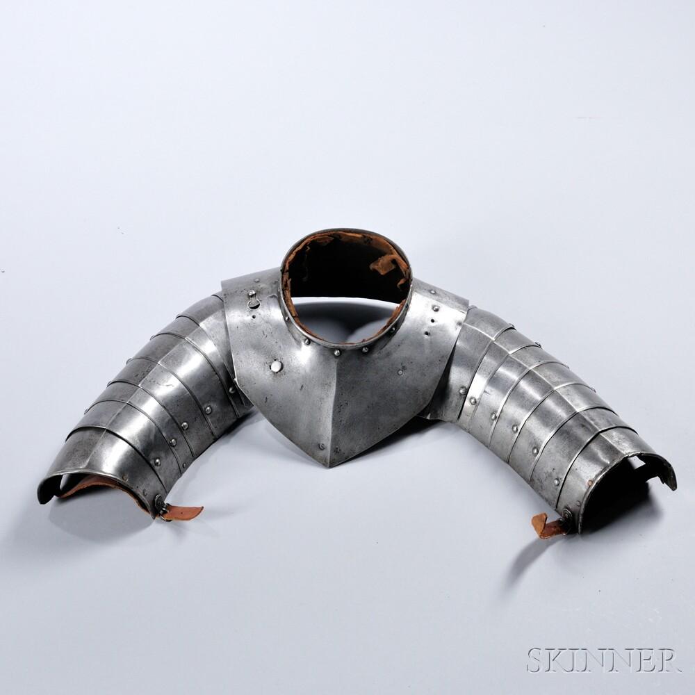 Gorget and Shoulder Armor