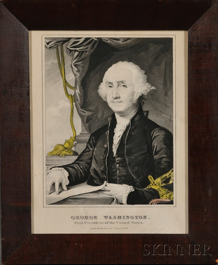 Sixteen Framed Presidential and Presidential Candidate Lithograph Portraits