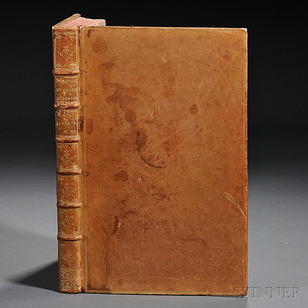 Picart, Bernard (1673-1733) Ceremonies et Coutumes Religieuses des Peuples Idolatres  , Single Volume.