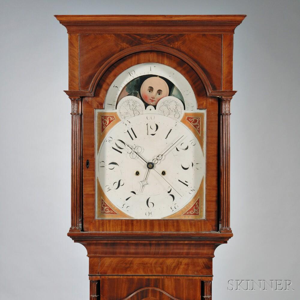 Mahogany Eight-day Tall Clock
