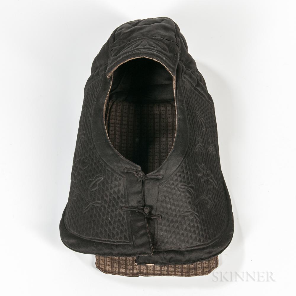 Child's Quilted Silk Winter Hat
