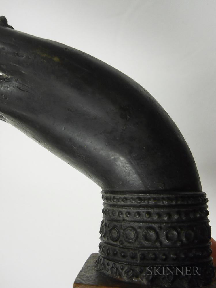 Bronze Buddha Hand