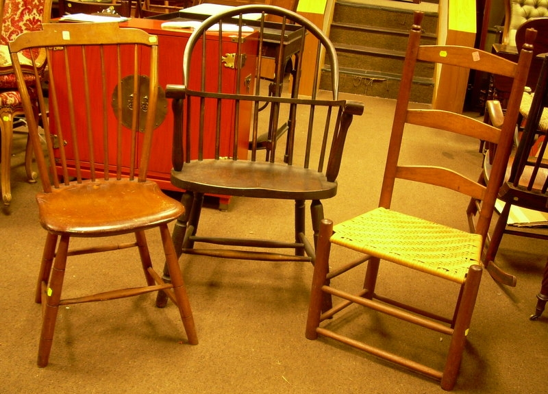 Three Assorted Chairs