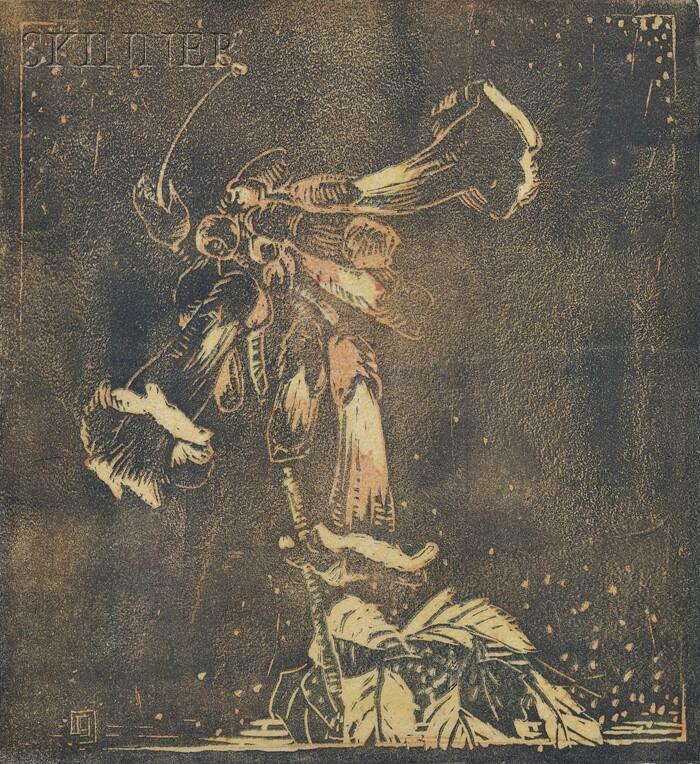 Eliza Draper Gardiner (American, 1871-1955)      Honey Suckle