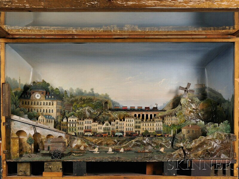 Tableau Automaton of a French Village