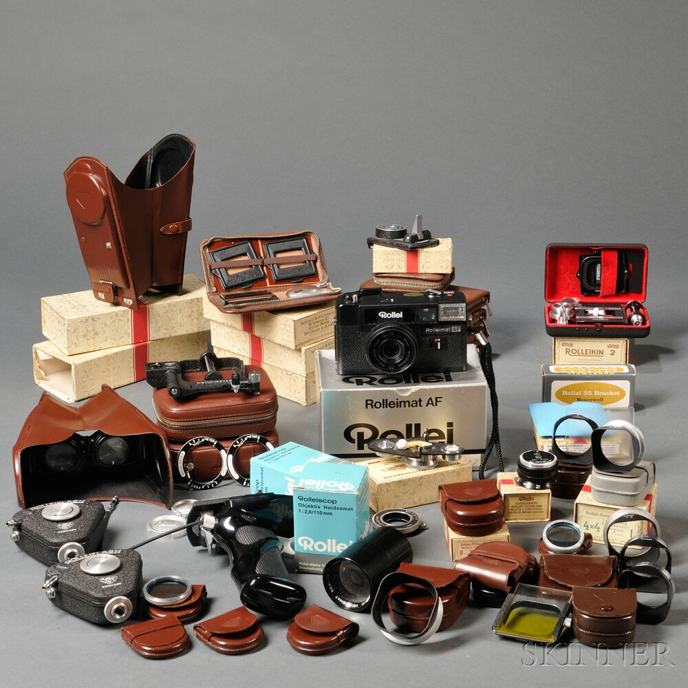 Group of Rollei Accessories