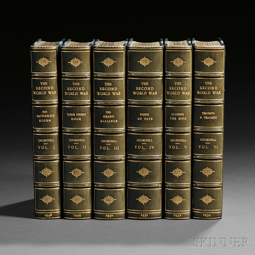 Churchill, Winston (1874-1965) The Second World War , Later Edition, in...