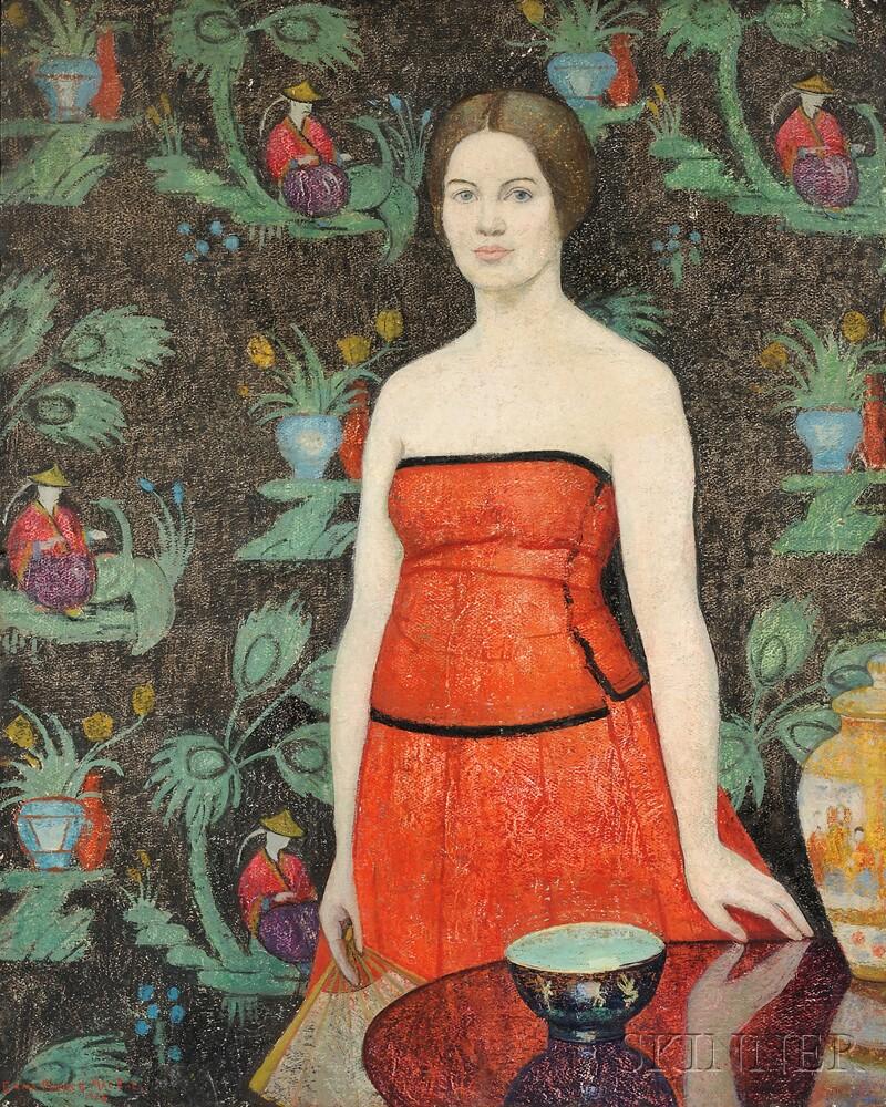Emma Fordyce MacRae (American, 1887-1974)      Roland in Red