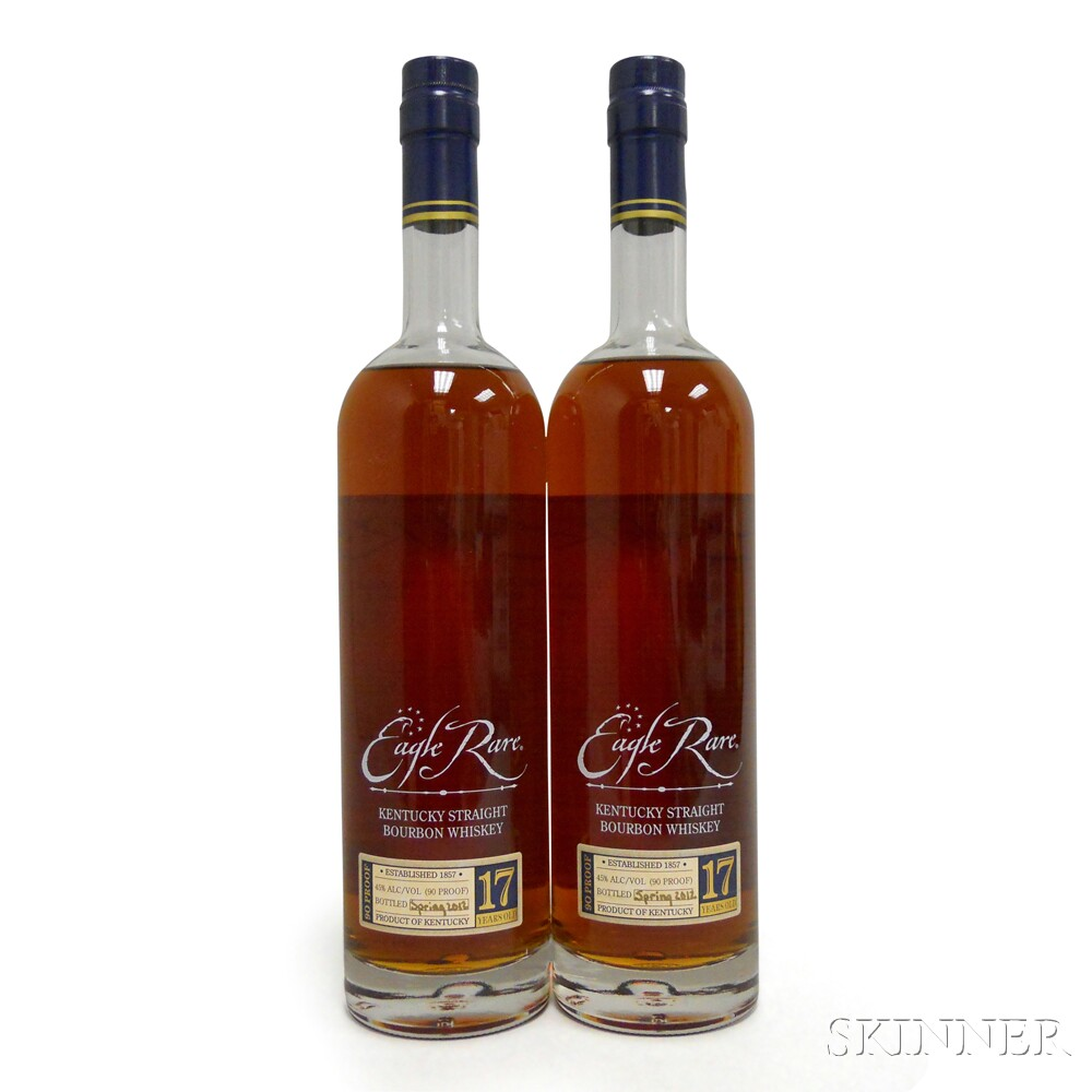 Buffalo Trace Antique Collection Eagle Rare 17 Years Old 2012, 2 750ml bottles