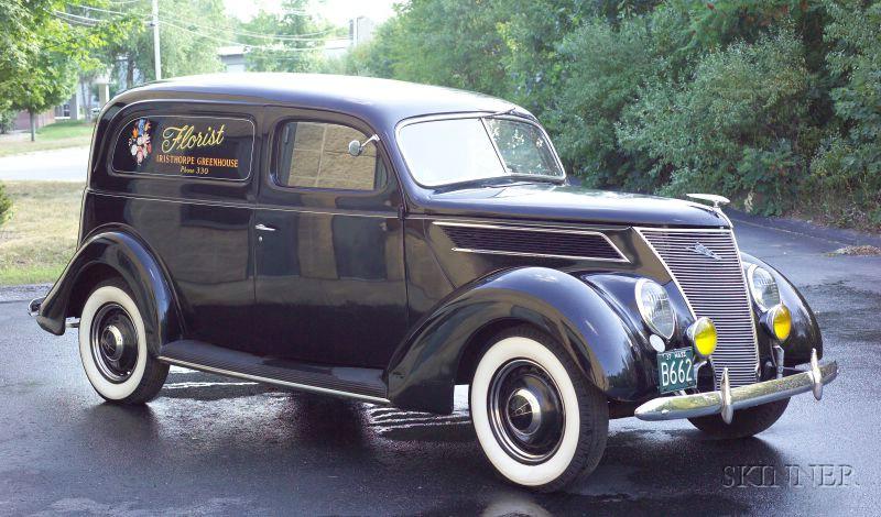 sold for 31725 1937 ford sedan delivery vin 183642529
