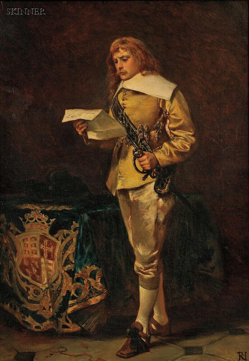 Robert Alexander Hillingford (British, 1828-1904)      Important News