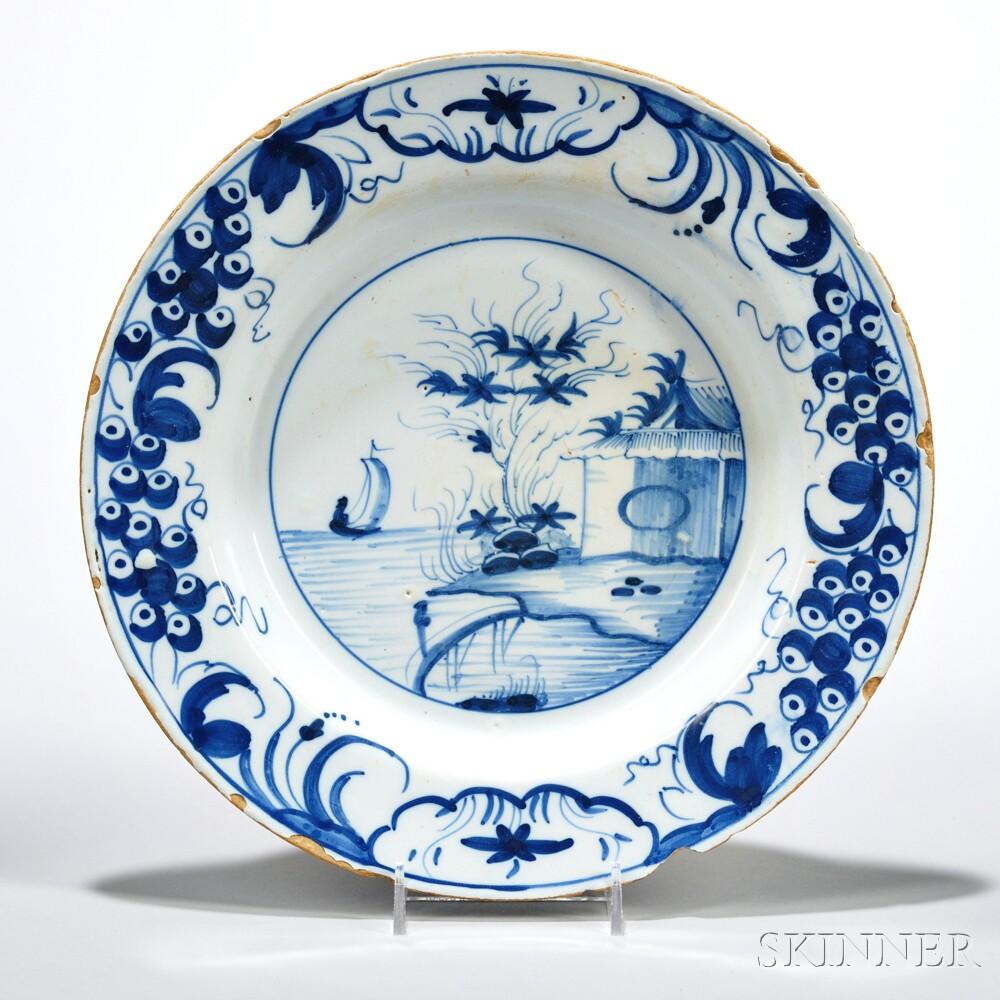 Tin-glazed Earthenware Deep Dish