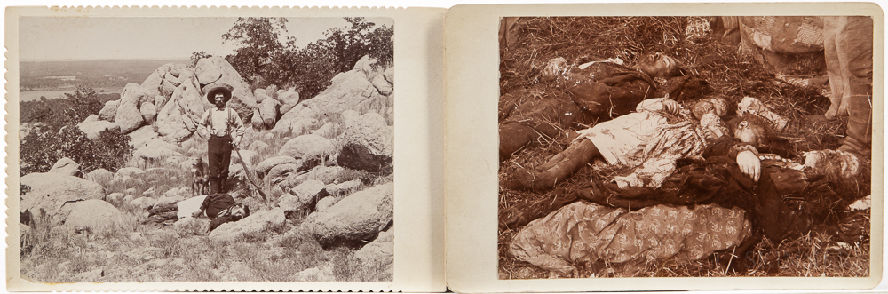 Two Post-mortem Cabinet Card Photographs