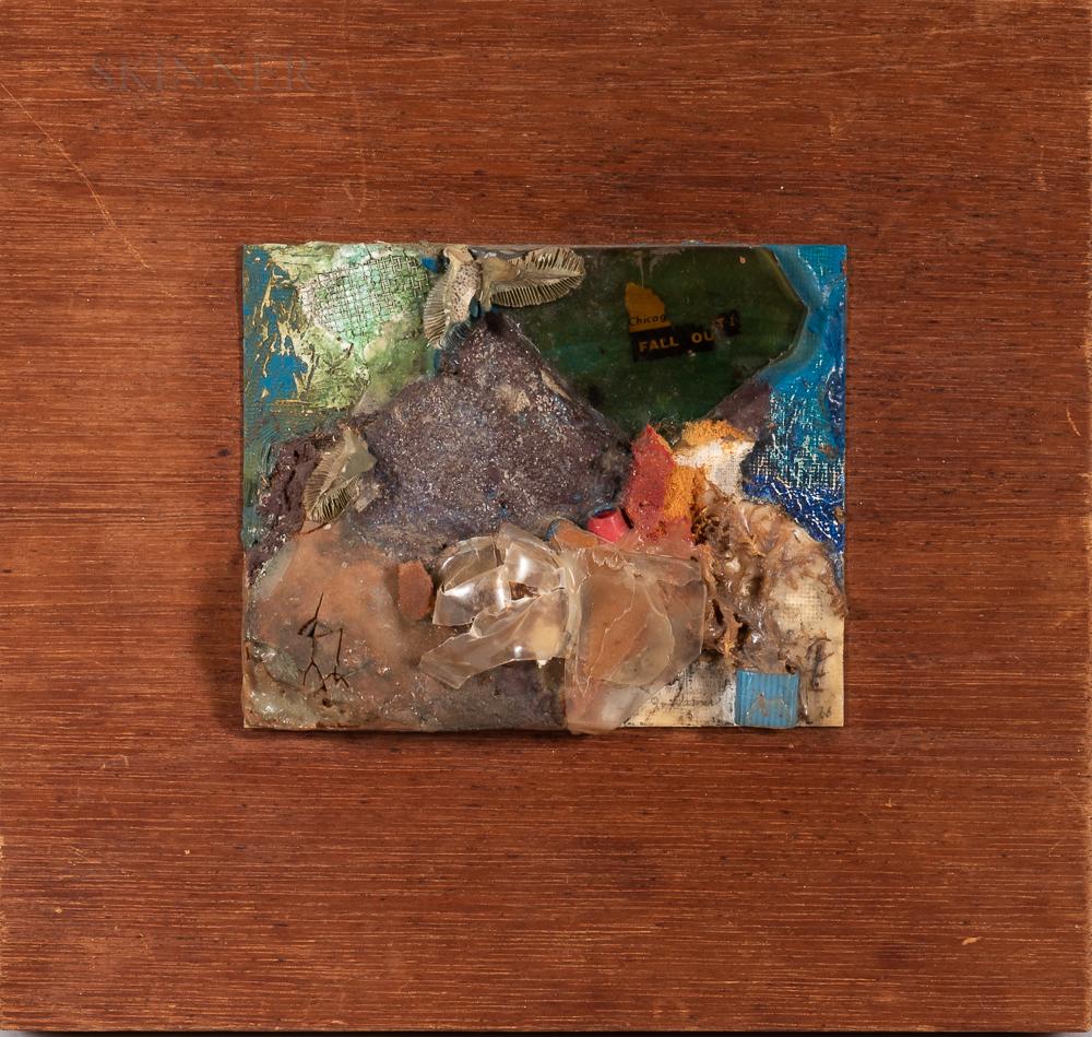 Jo Warner (American, 1931-1999)      Three-dimensional Collage