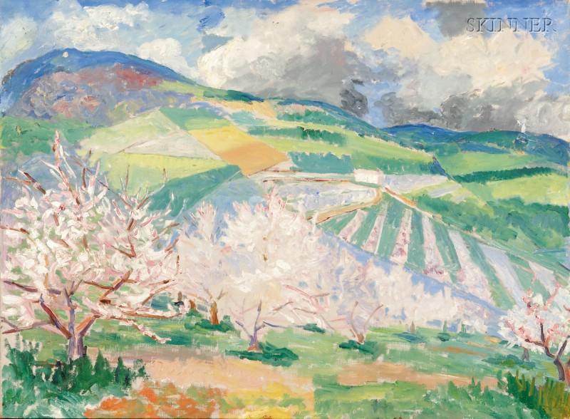 John Dana Bashian (Armenian/American, 1897-1975)      Orchard