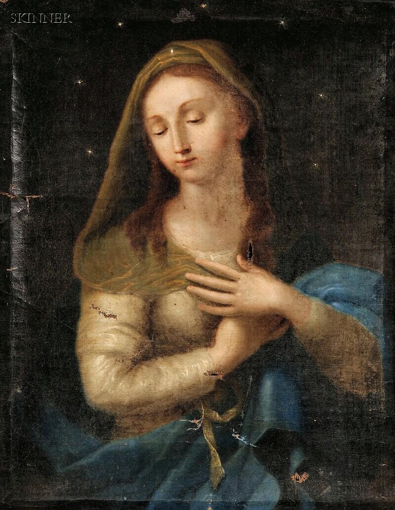 School of Lorenzo Sabatini (Italian, c. 1520-1576)      Madonna
