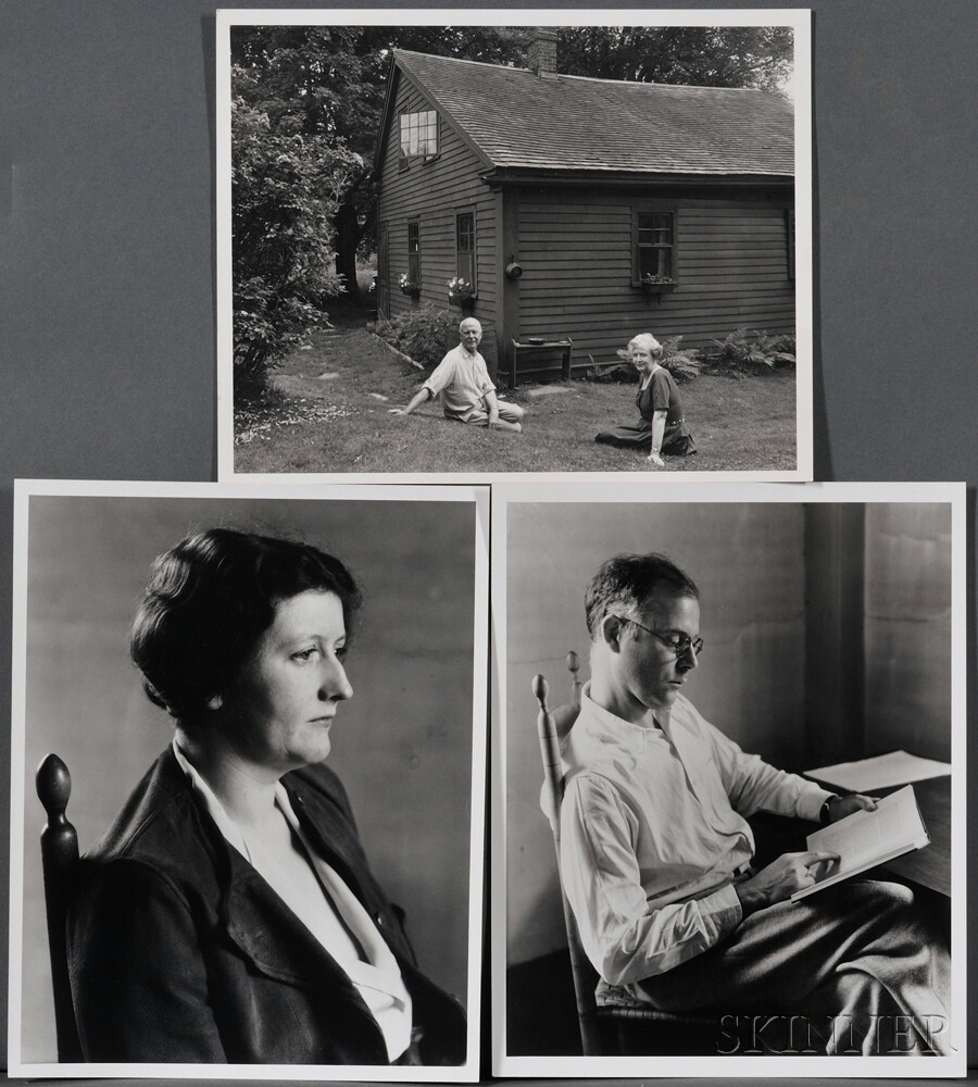 Three Photographs of the Andrewses