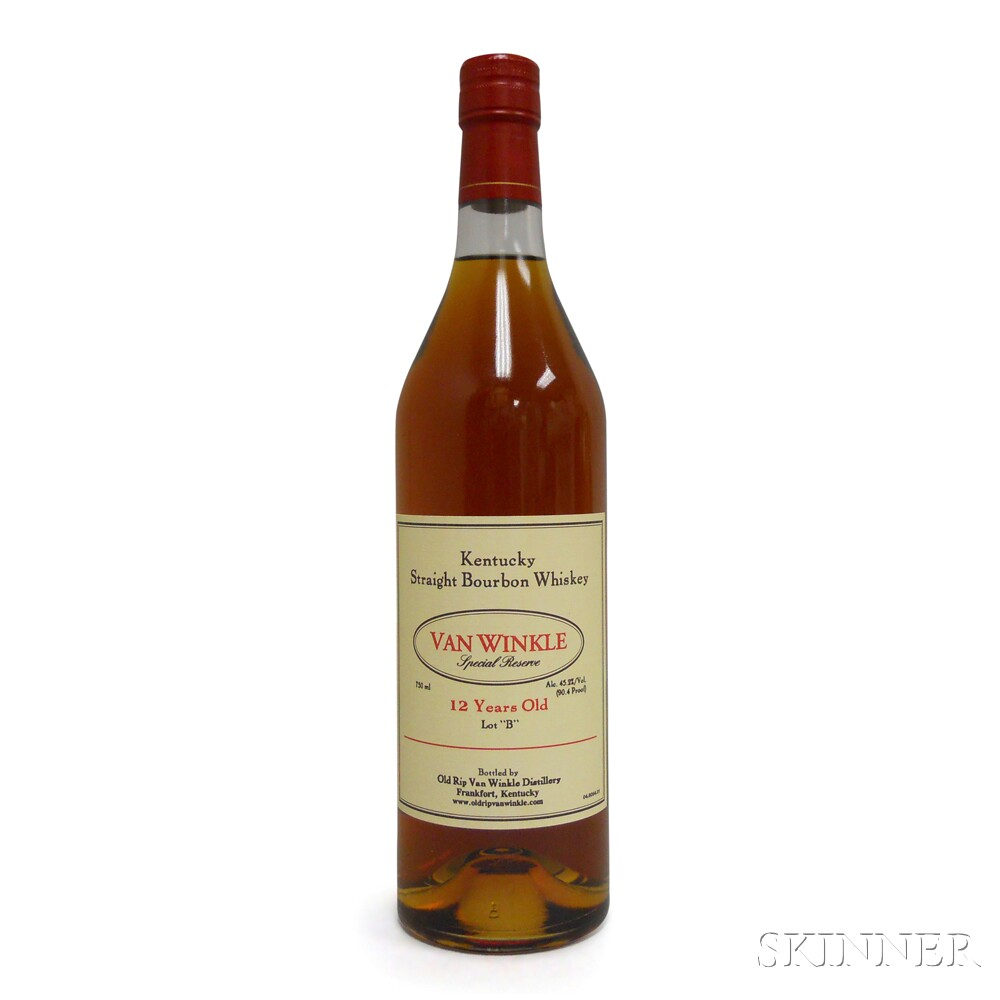 Van Winkle Special Reserve Bourbon 12 Years Old Lot B 2014, 1 750ml bottle
