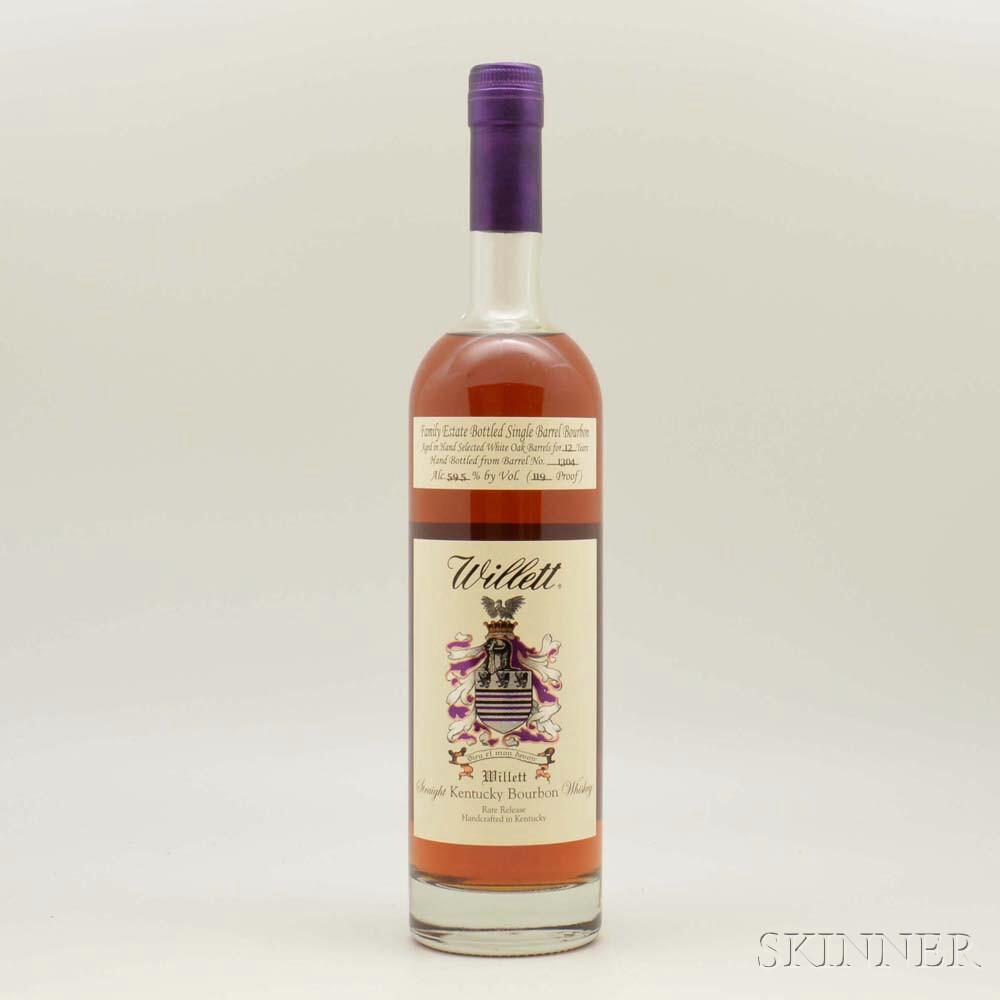 Willett Bourbon 12 Years Old, 1 750ml bottle