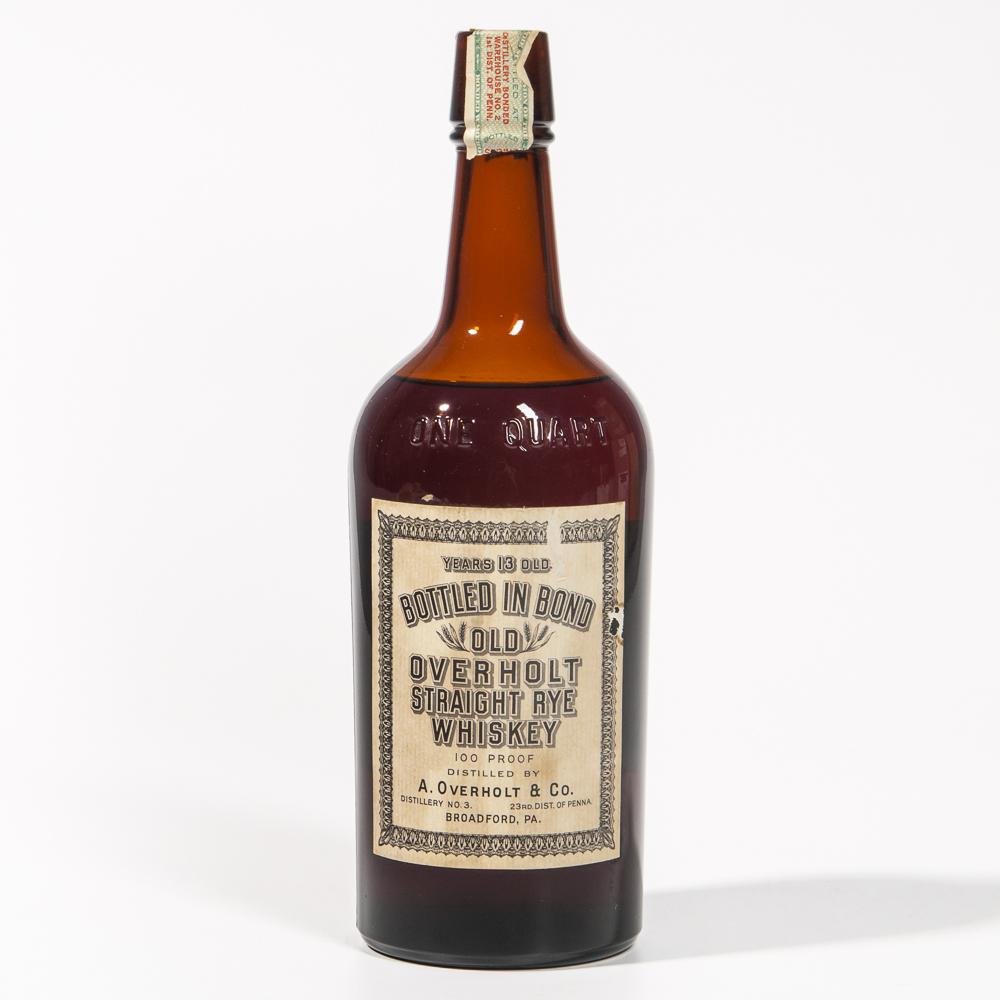 Old Overholt 13 Years Old 1916, 1 quart bottle