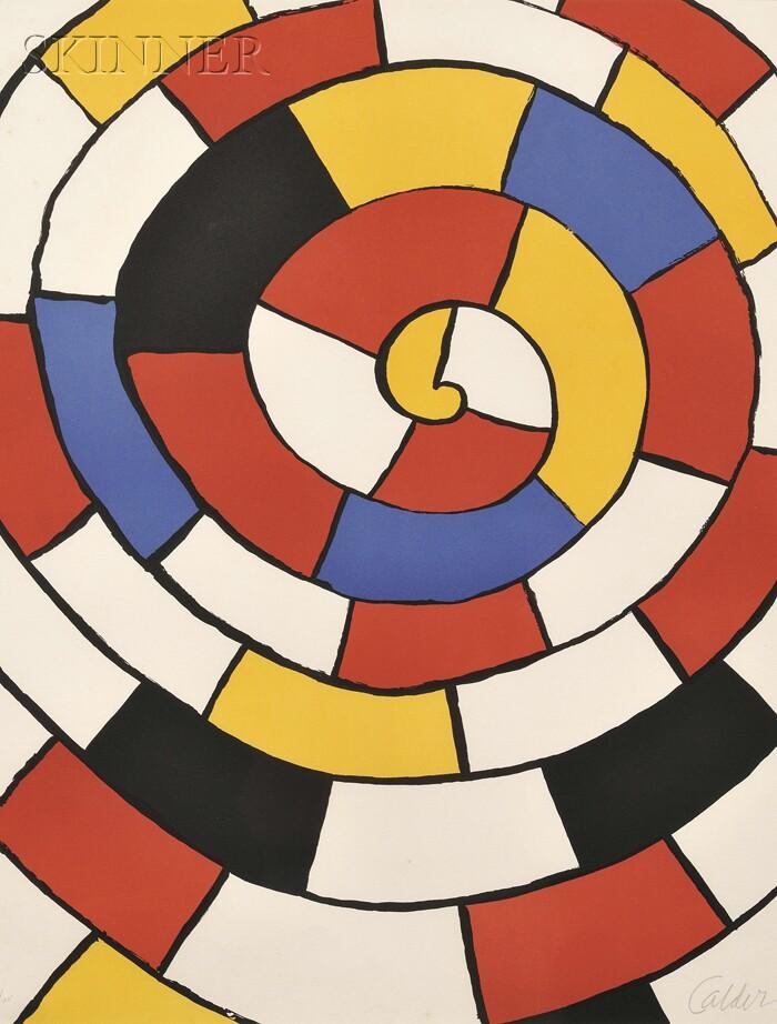 Alexander Calder (American, 1898-1976)      Untitled (Spiral)