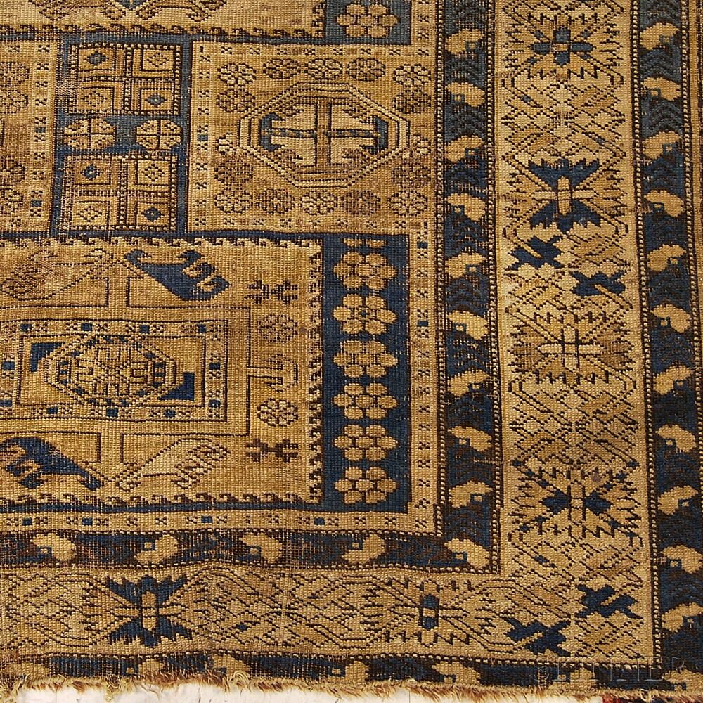 Kazak and a Shirvan Rug