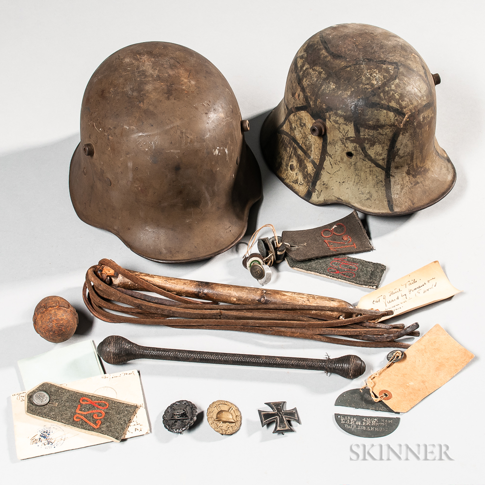 Group of Mostly German WWI Items