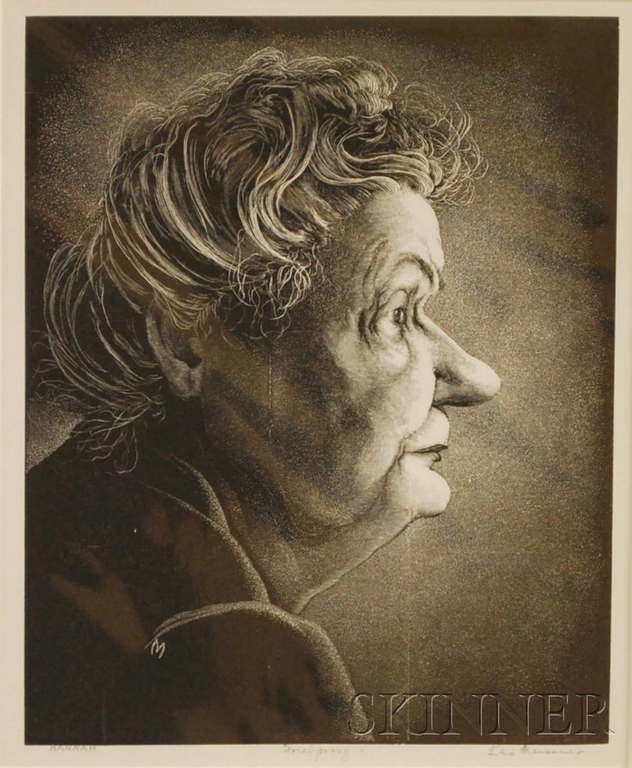 Leo John Meissner (American, 1895-1977)      Hannah