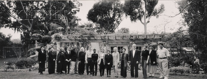 Catherine Opie (American, b. 1961)      Curators at the Norton Home, Santa Monica