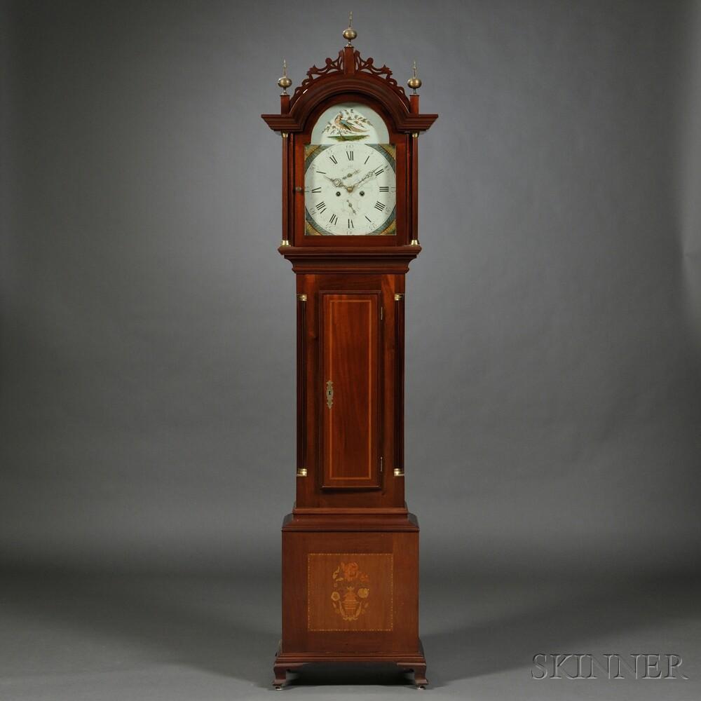 Mahogany Tall Clock