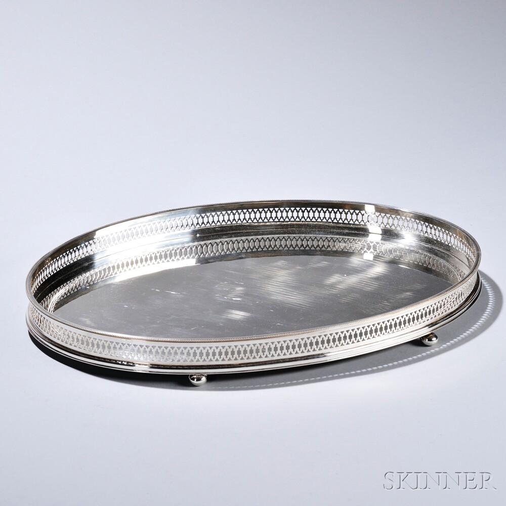 Elizabeth II Sterling Silver Tray