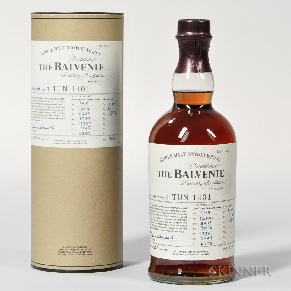 Balvenie Tun 1401, 1 750ml bottle (ot)