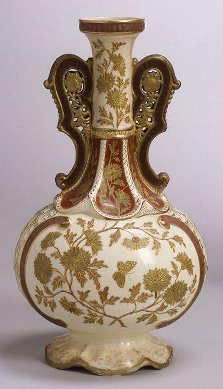 American Aesthetic Movement Pottery Vase