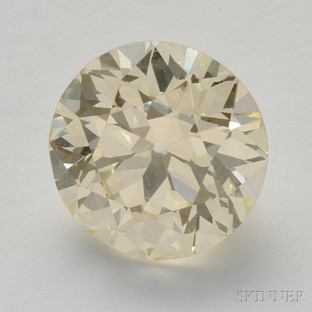 Unmounted Colored Diamond