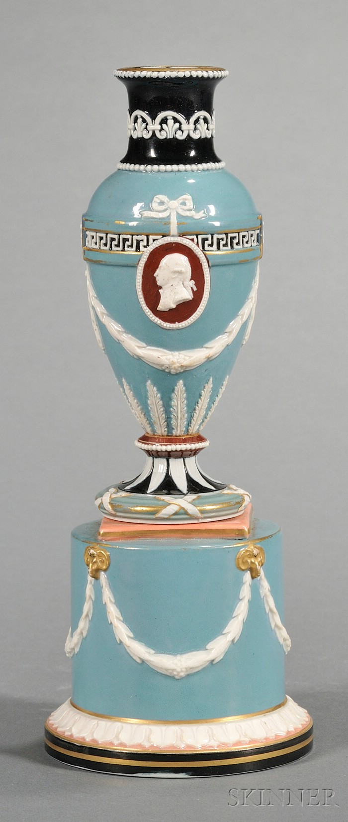 Wedgwood Victoria Ware Portrait Vase
