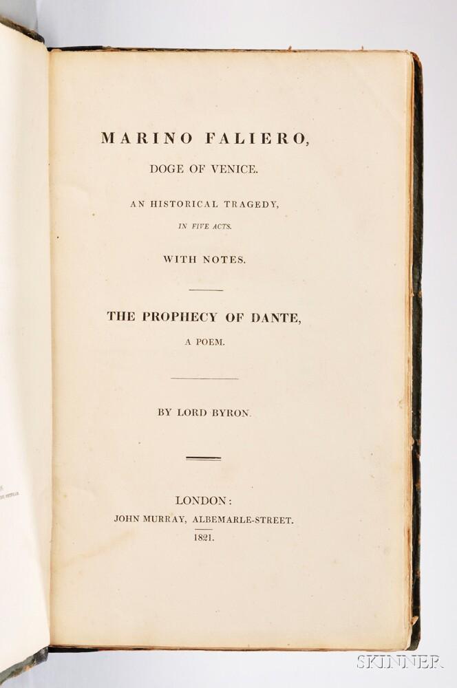 Byron, George Gordon Byron, 6th Baron (1788-1824) Marino Faliero.