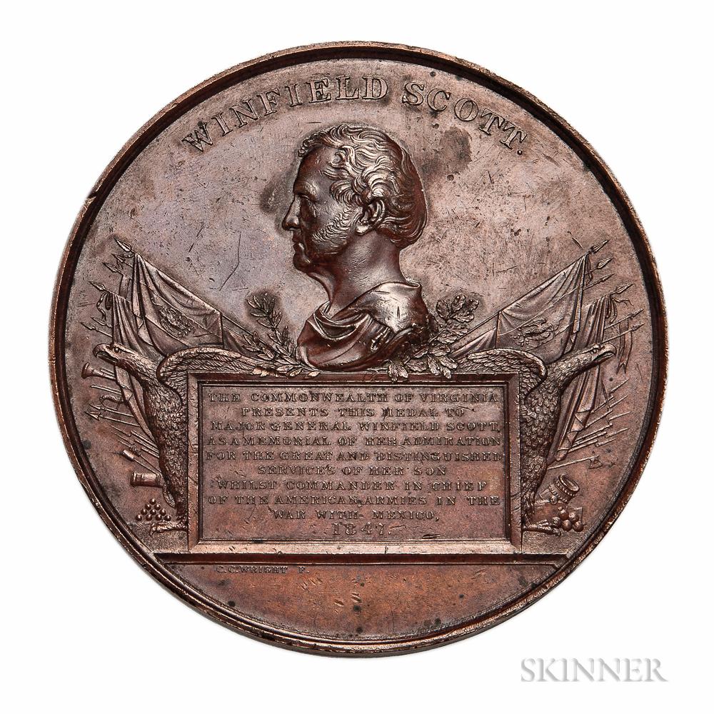 Bronze Winfield Scott Medal