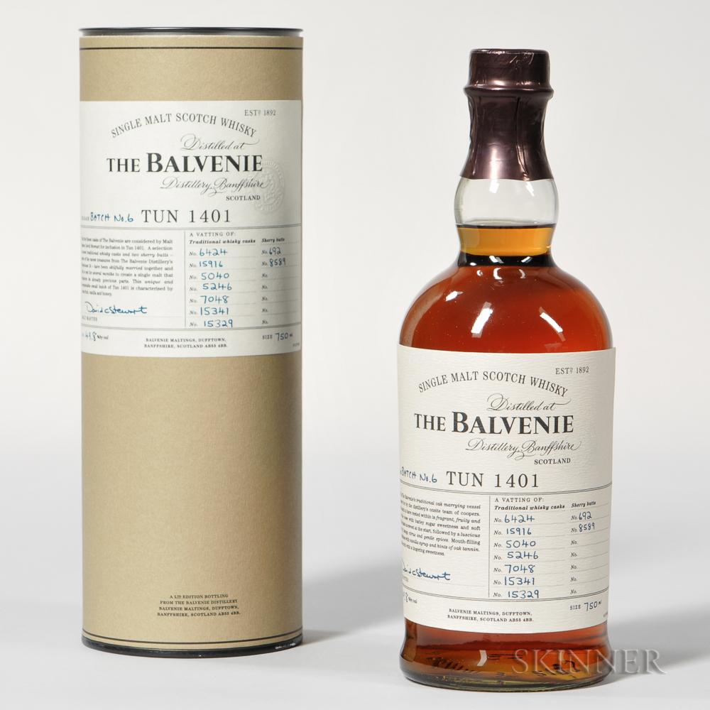 Balvenie Tun 1401 Batch #6, 1 750ml bottle (ot)
