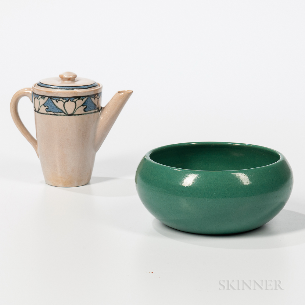 Saturday Evening Girls Covered Pitcher and Bowl